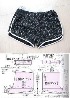 short / sewingpattern                                                                                                                                                                                 More