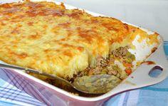 Citromhab: Pásztorpite - Shepherd's pie Hungarian Recipes, Hungarian Food, Looks Yummy, My Recipes, Lasagna, Food And Drink, Pie, Breakfast, Ethnic Recipes