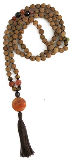 Earth's Riches Rudraksha Mala, 108 Beads * See it now, it's a great jewelry : jewellery