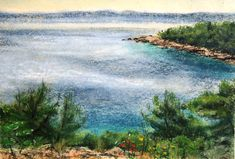 Hvar in the May Pastels, River, Mountains, Landscape, Nature, Outdoor, Outdoors, Naturaleza, Outdoor Games