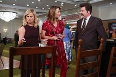 """""""Ron and Diane"""" / Parks and Recreation / Parks And Recreation Episodes, Parks And Recs, Nick Offerman, Leslie Knope, Amy Poehler, Ron Swanson, Picture Photo, Photo Galleries, Pictures"""