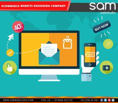 SAM Web Studio, an #ecommerce website designing & development company is offering #SEOwebsite design service for all its new designs and websites. We understand the importance of #SEO of a website and high #SEOrankings of the site. We offer custom #websitedesigning and #development services.Call Us:099683 53570