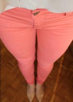 Kup mój przedmiot na #vintedpl http://www.vinted.pl/damska-odziez/rurki/8292263-sliczne-rozowe-rozciagliwe-rurki-idealne-na-wiosne-i-nie-tylko
