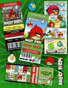 Invitaciones Angry Birds Llevate Bono Gratis