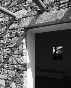 Schinousa stone building