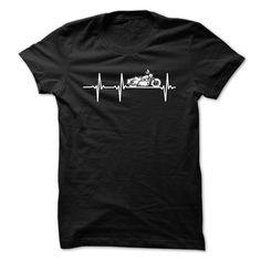(Top Tshirt Deals) Motorcycle heartbeat [TShirt 2016] Hoodies, Funny Tee Shirts