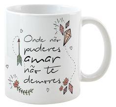 Caneca Frida - Frase não te Demores
