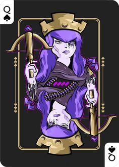 Queen of spades  ( Clash of Clans )