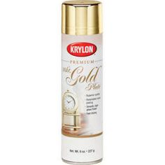 Krylon 1000 Premium Metallic, Gold (6 Pack)