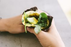 We've taken eggs for breakfast to a new level! This is a super nutritious, protein-rich recipe using seaweed that usually wraps sushi but this time we're wrapping up an omelette and greens. Yum!