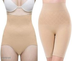 Shapewear Women's Control Shapewear Multipack of 2 Fabric: Nylon Multipack: 2 Sizes:  M (Bust Size: 10 in) Country of Origin: India Sizes Available: Free Size, XS, S, M, L, XL, XXL   Catalog Rating: ★3.9 (4130)  Catalog Name: Women's Control Shapewear Combo CatalogID_1027810 C76-SC1050 Code: 675-6458139-