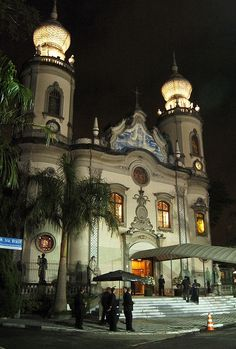 Igreja Nossa Senhora do Brasil! São Paulo. Linda