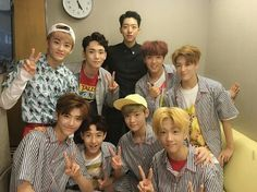 Key with NCT Dream! (I am IN LOVE with Jisung, he is like a fee months older than me) #key #shinee #nct #nctdream #kbs