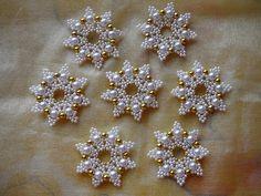 Dekorácie - Hviezdička biela  - 3035385