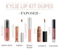Kylie Cosmetics | Kylie Lip Kit Dupes | Liquid Lipstick Dupes | Kylie Exposed…
