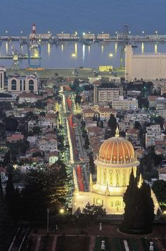 Haifa - Explore the World with Travel Nerd Nici, one Country at a Time. http://TravelNerdNici.com