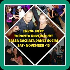 Errol invites you to another fantastic dance party open to the public! Enjoy Salsa, Bachata, Cha-Cha, Kizomba, and Merengue in this popular dance social or
