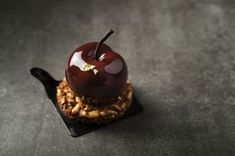 Cherry Petit Gateau - Petit Gateau cu cirese si ciocolata