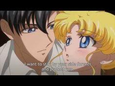 Sailor Moon Crystal Act 19 Mamoru's Raum - YouTube