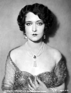 Dorothy Sebastian performed in George White's Scandals and later co-starred with Joan Crawford and Anita Page for a popular series of MGM romantic dramas including Our Dancing Daughters (1928) and Our Blushing Brides (1930). Sebastian also appeared in 1929's Spite Marriage, wherein she was cast opposite her then-lover Buster Keaton.
