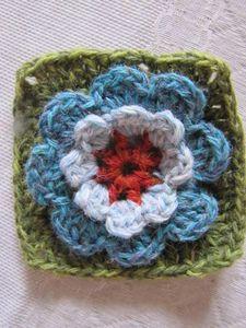 Tuto Granny Fleur  / flower granny tutorial ~ free pattern