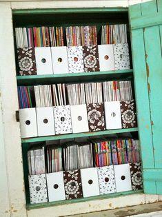 Magazine organization