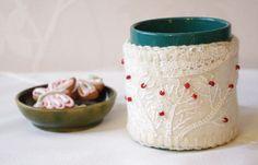 Mug Cozy cup cozy  Mug Warmer  Mug hug  wool mug by tertsdesign