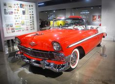 1956 Chevy Bel Air at the Petersen Museum, photo ©laura l. sweet