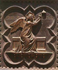 Esperanza (Puertas: panel del sur - bronce) de Andrea Pisano (1290-1348, Italy)