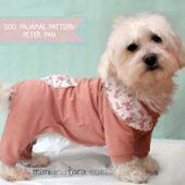 Dog Pajamas Pattern (Peter Pan)