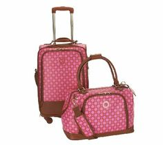Isaac Mizrahi Live! Luggage Set
