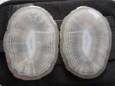 White Natural Druzy Geode Agate Slice 1MM Hole Gemstone Pendant Bead 53-54mm
