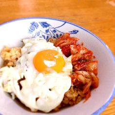 目玉焼き難しい - 3件のもぐもぐ - ビビンバ丼 by skeis