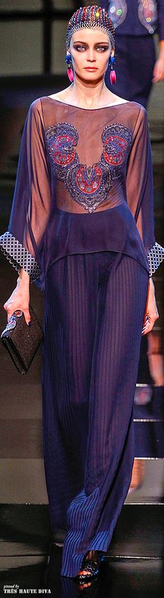 Giorgio Armani Privé Couture Spring 2014