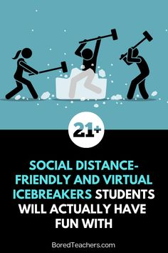 21 Social Distance-Friendly and Virtual Icebreakers Students Will Actually Have Fun With