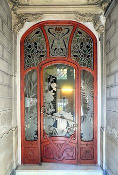 art deco door, incredible