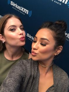 Buttahbenzo selfie. Ashley Benson and Shay Mitchell