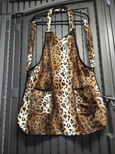 Handmade and available at website. Bbq Apron, Chef Apron, Cheetah Print, Website, Trending Outfits, Cute, Handmade, Crafts, Etsy