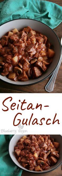 Deftiges Seitan-Gulasch Vegan