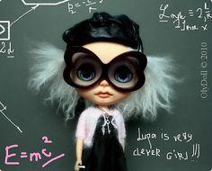 Albert Einstein by Olydoll, via Flickr
