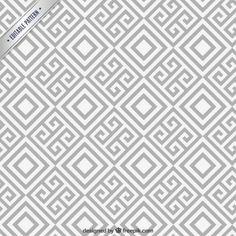 Teste padrão geométrico abstrato