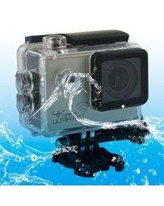 SJ8000 WiFi Novatek 96660 Ultra HD 4K 2.0 inch LCD Sports Camcorder with Waterproof Case, 170 Degrees Wide Angle Lens, 30m Waterproof(Silver)