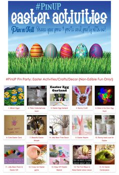 Easter Activities, Crafts and Decorations!