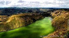 Colombia - Laguna Verde, volcan Azufral, Tuquerres, Nariño. Ecuador, River, Country, Bella, Nature, Coral, Outdoor, Volcanoes, Beautiful Places