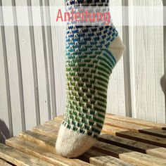 "Socke ""Tanja"" – Rinikäfer-Design"