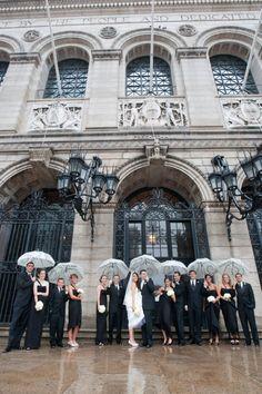 Rainy wedding day? Be prepared with unique and fun umbrellas!