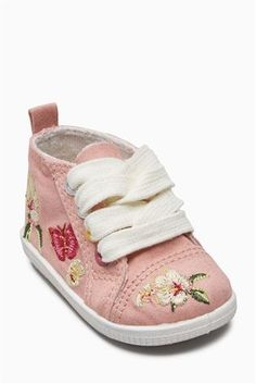 Buy Pink Pram High Tops (Younger Girls) from the Next UK online shop