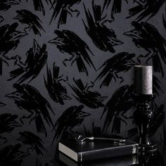 7. Diablo Raven Wallpaper by Graham and Brown. Created by famed designer Barbara Hulanicki, Diablo is a dark design which is sure to fascinate on the walls of any home. The design is linked to another of Barbara's, Maleficent, with this piece featuring the wicked Disney villain's pet raven, Diablo. The motif is beautifully illustrated and, along with the black colour of the design, helps to give the piece a brooding darkness with a definite sense of mood.