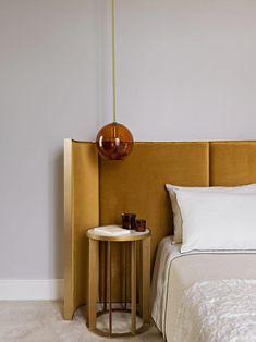 home design dream Contemporary Bedroom, Modern Bedroom, Contemporary Furniture, Modern Contemporary, Bedroom Vintage, Modern Retro, Apartment Interior, Home Interior, Interior Design