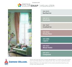 I Found These Colors With Colorsnap Visualizer For Iphone By Sherwin Williams Rarified